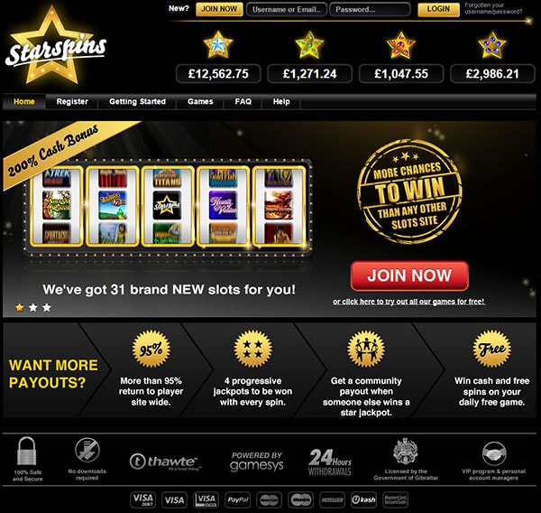 Starspins Free Game