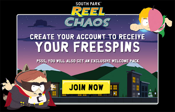 South Park Reel Chaos Free Spins