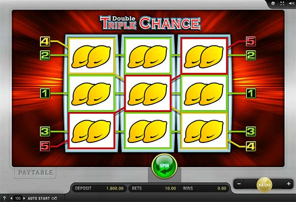Double Triple Chance Slot Merkur