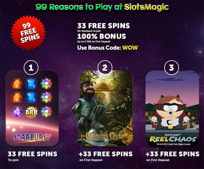 Slots Magic Bonus Code