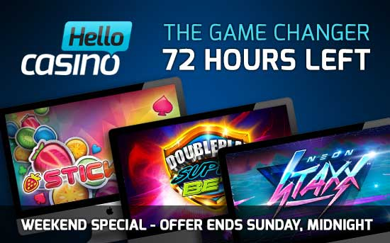 Hello Casino Cashback Weekend