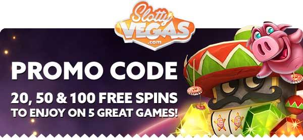 slotty vegas casino bonus codes