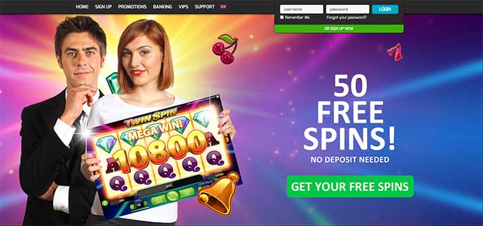 Casino Games Free Spins No Deposit