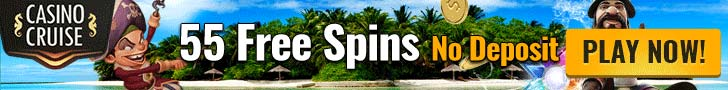 55 Free Spins No Deposit - Casino Cruise