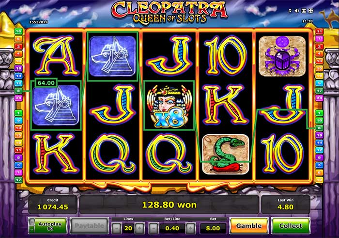 Cleopatra Queen of Slots multiplies the fun at Casumo