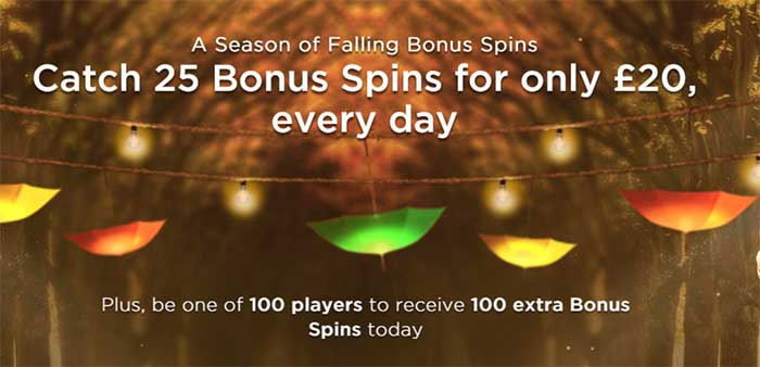 Mr Green's Season Of Free Spins