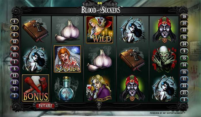 Bloodsuckers Slot NetEnt