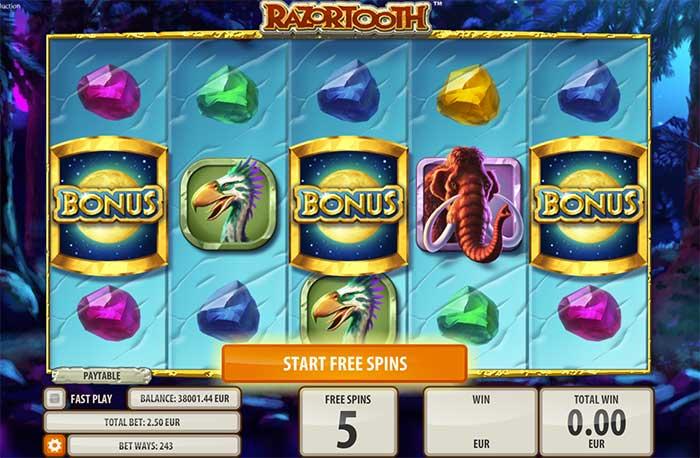 Razortooth Slot Quickspin