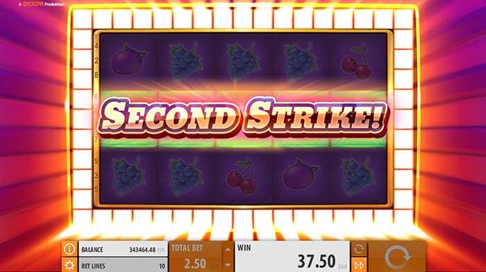 Second Strike Slot Quickspin