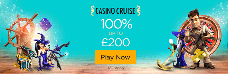 Casino Cruise Welcome Bonus Header