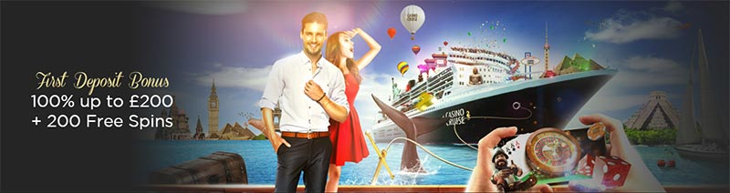 Casino Cruise First Deposit Bonus