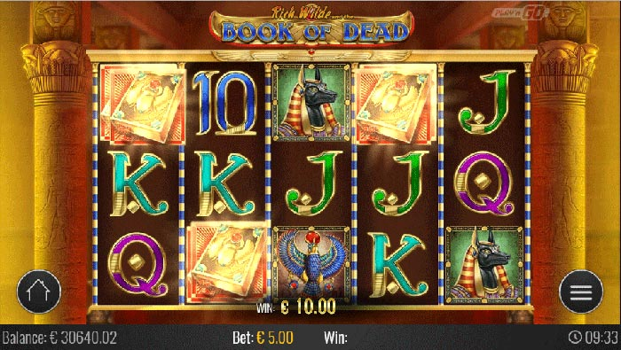 Book of Dead Slot Play