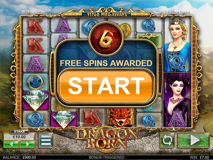 Dragon Born Slot BTG