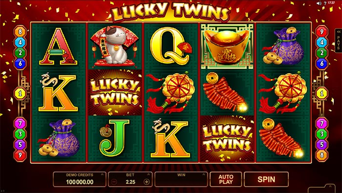 Lucky slots fan page