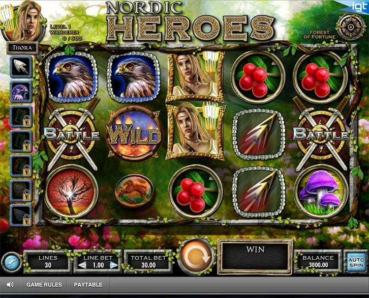Nordic Heroes Slot IGT