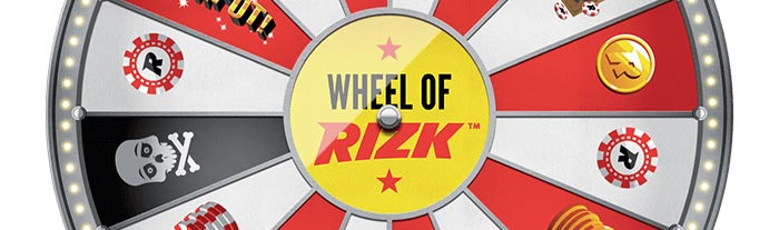 Wheel of Rizk - ВЈ1;000 In Cash - No Wagering Requirements