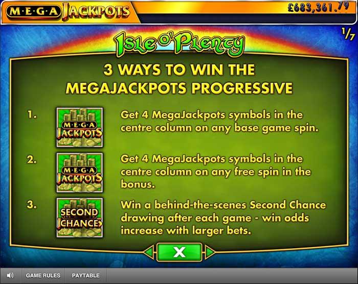 MegaJackpots Isle o