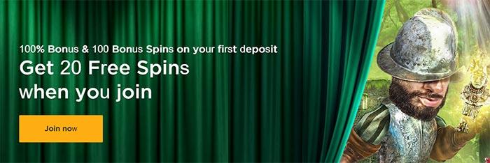 Mr Green No Deposit