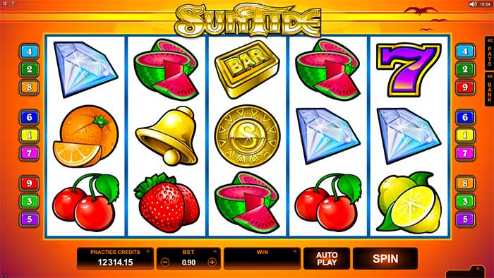 SunTide Slot - Microgaming