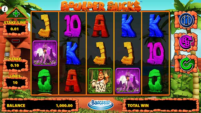 Boulder Bucks Slot - Barcrest
