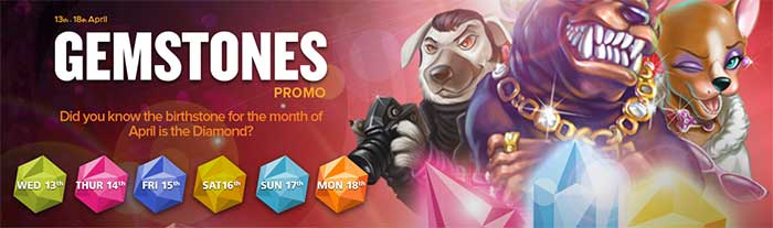 NextCasino Gemstone Promotions