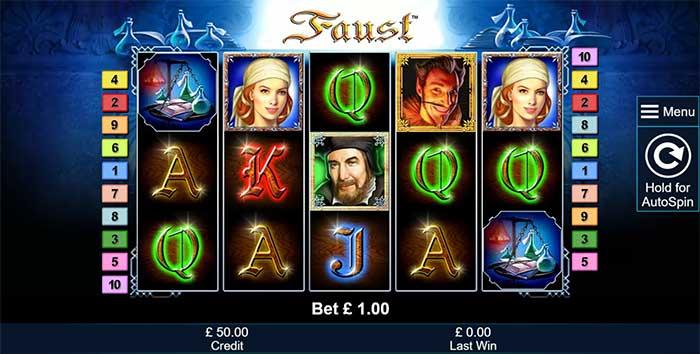 Faust Slots Online
