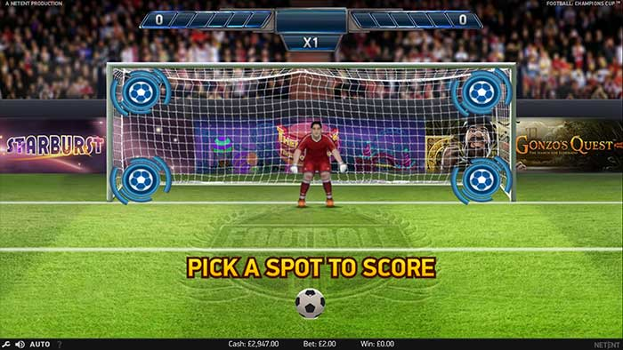 Football Champions Cup Slot - NetEnt