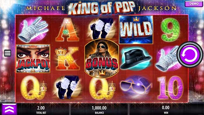 Michael Jackson King of Pop Slot