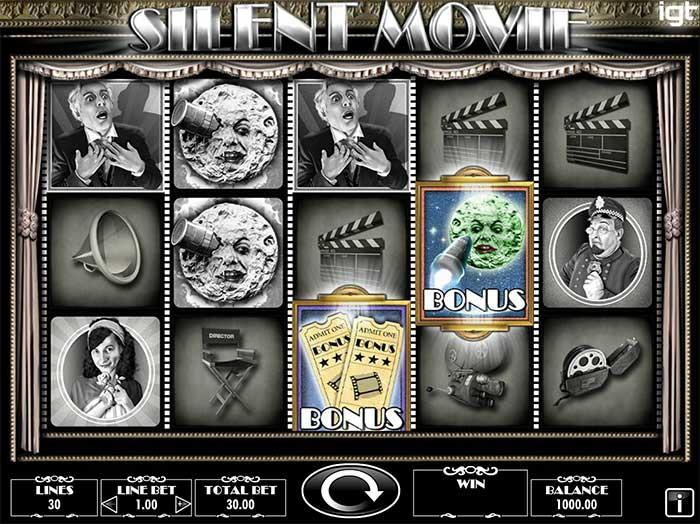 Silent Movie Slot - IGT