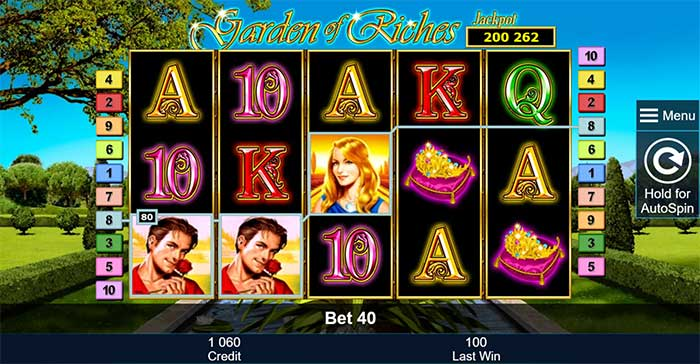 Garden of Riches Slot - Novomatic
