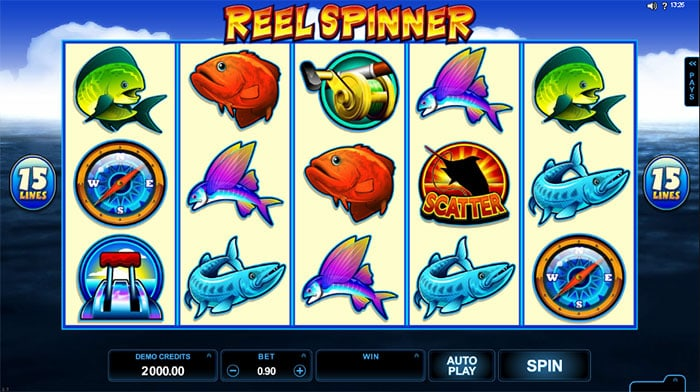 Reel Spinner Slot - Microgaming