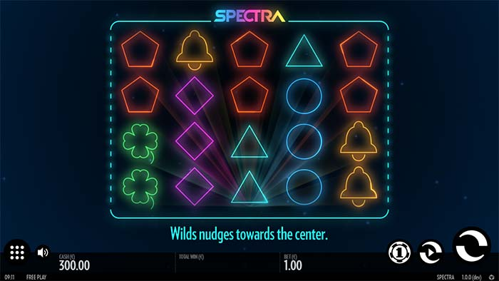 Spectra Slot base game