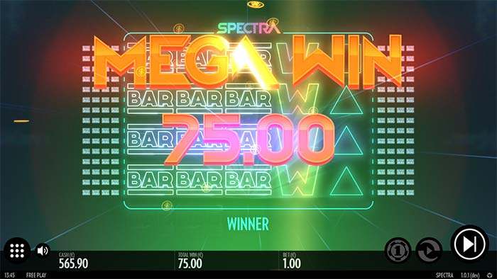 Spectra Slot Mega Win