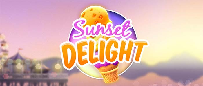 Sunset Delight Slot Logo