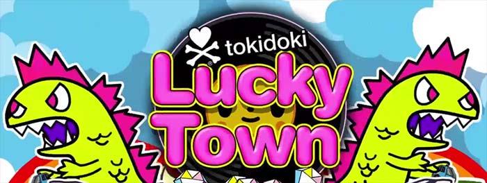 Tokidoki Lucky Town logo
