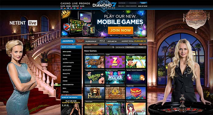 Diamond 7 Casino Live Dealers