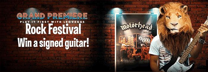 Motorhead Promotions at Leo Vegas Casino