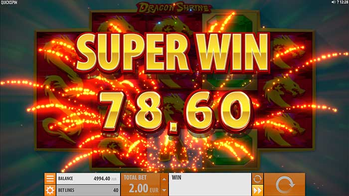 Dragon Shrine Slot big win