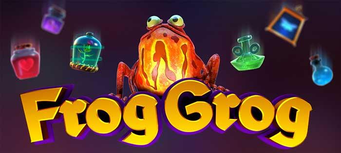 Frog Grog Slot Logo