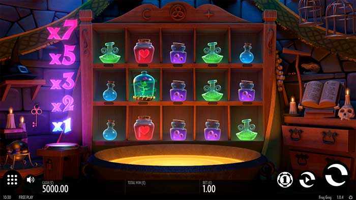 Frog Grog Slot Base Game