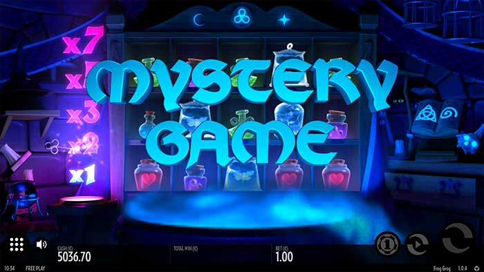 Frog Grog Slot Mystery Game