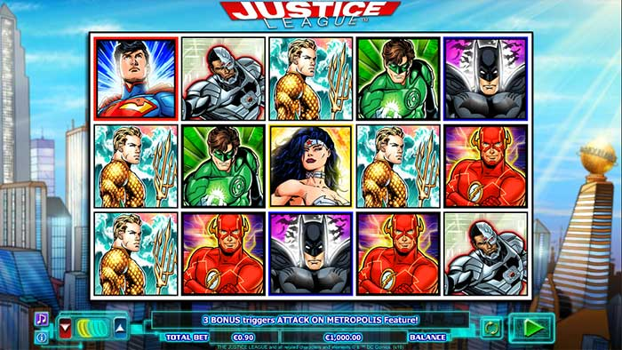 Justice League base game play