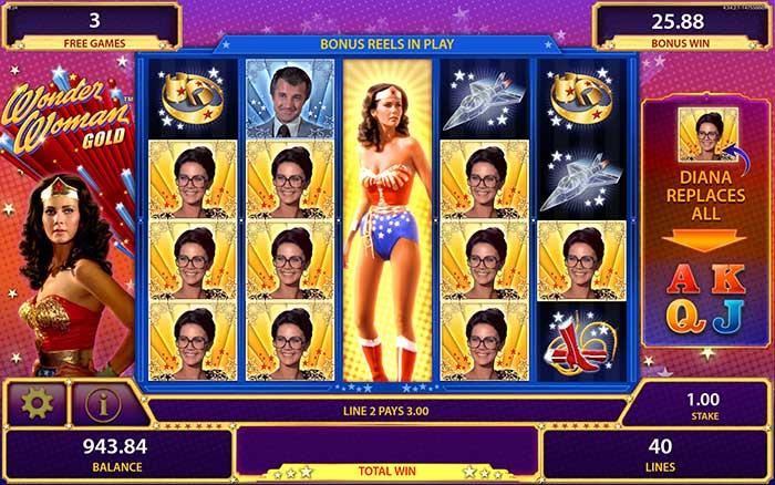 Free Wonder Woman Slots