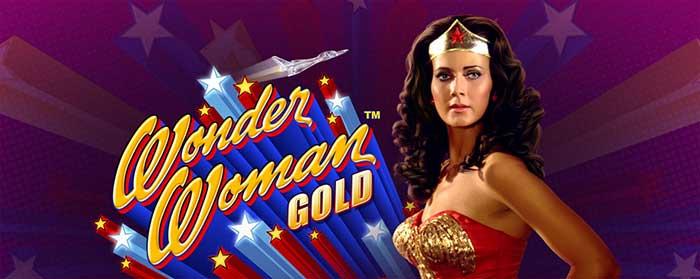 Wonder Woman Gold Slot Logo