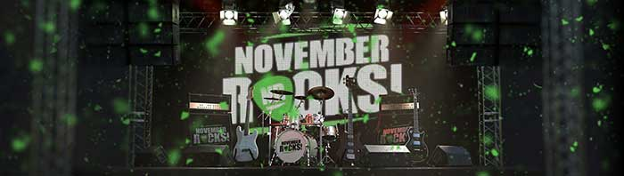 November Rocks Promotion