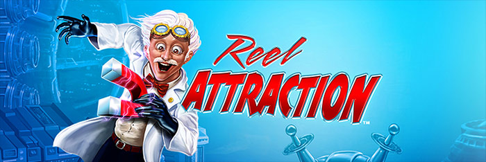 Reel Attraction Slot Logo