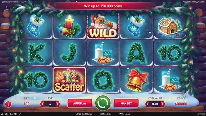 Secrets of Christmas Slot - base game