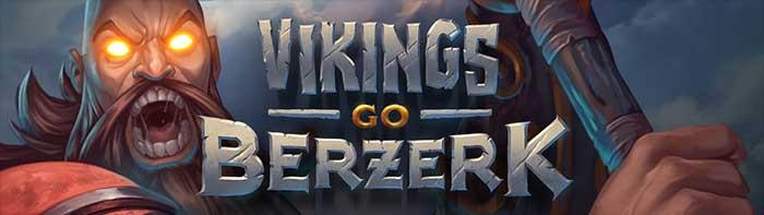 Vikings Go Berzerk slot logo