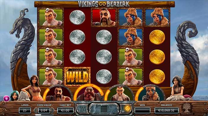 Vikings Go Berzerk slot base game