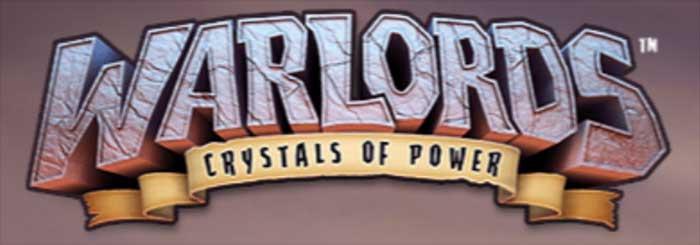 Warlords - Crystals of Power Slot logo